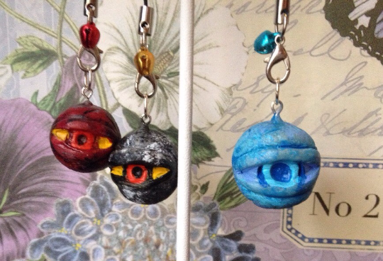 Inspired DS Covenant Eye Orbs by LeapingLizardCosplay