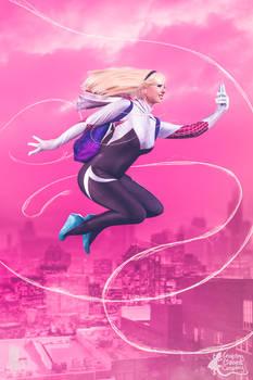 Spider Gwen Selfie