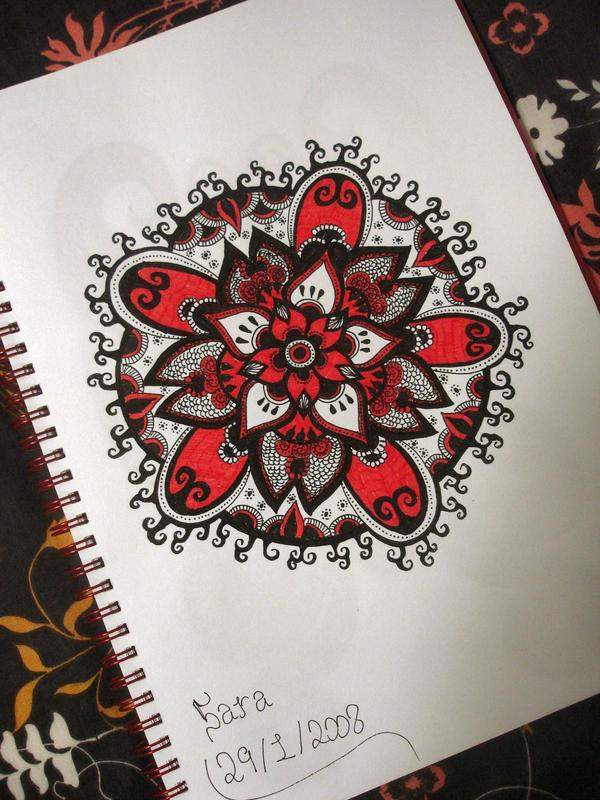 Red Flower by ~pen-it-black(Deviant ID) Red_Flower_by_pen_it_black