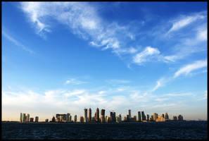 Doha Horizon by pen-it-black