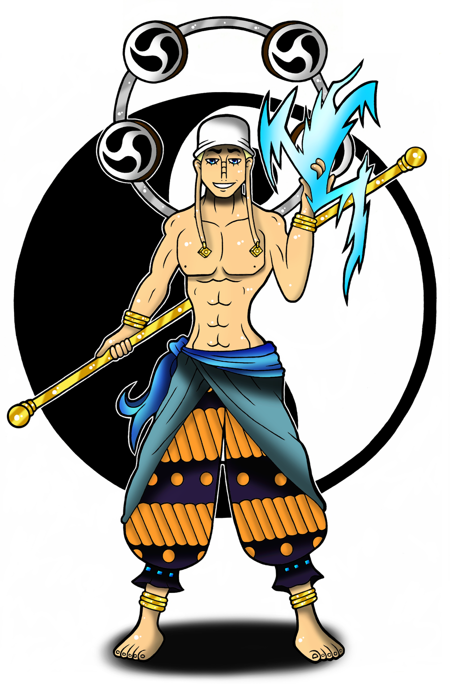 One Piece Enel by Flash-of-Lingt on DeviantArt