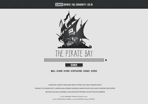 The Pirate Bay Redesign I