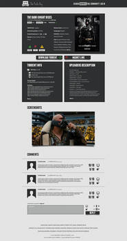 The Pirate Bay Redesign III