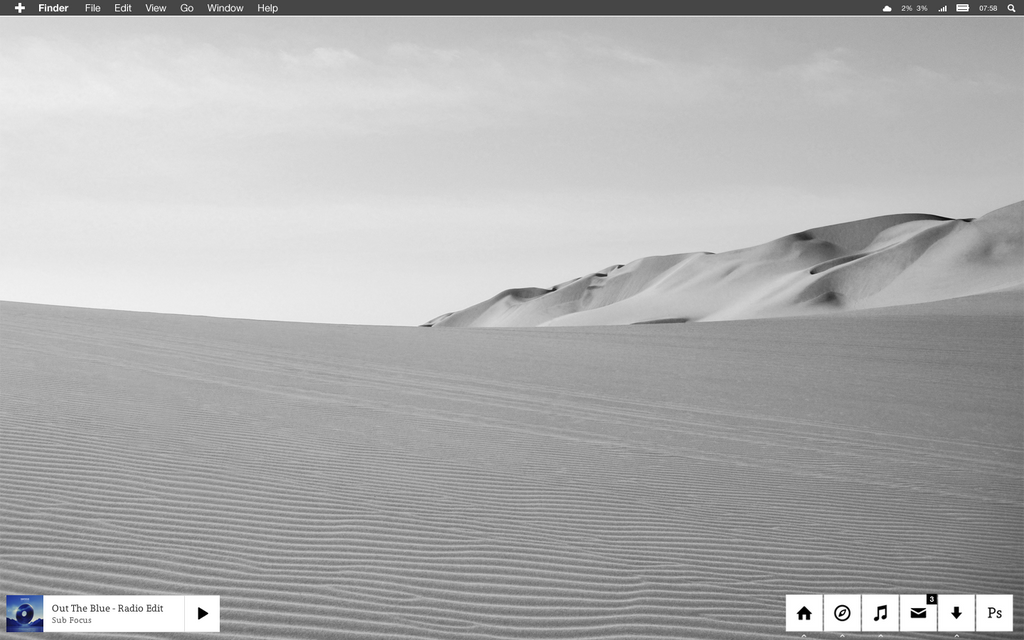 Desktop Screenie - March by epicXbread
