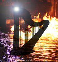 Harp From Hell by Shirley-Agnew-Art