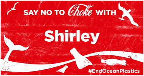 No to Choke by Shirley-Agnew-Art