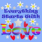 Everything Starts With Love by Shirley-Agnew-Art