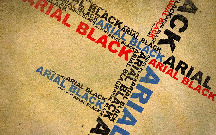 Arial Black by Dalamar789