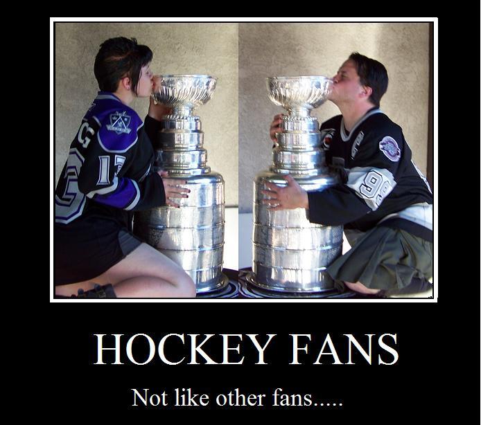 Hockey Fans by lexophile42