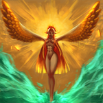 Golden wings by Yonnath
