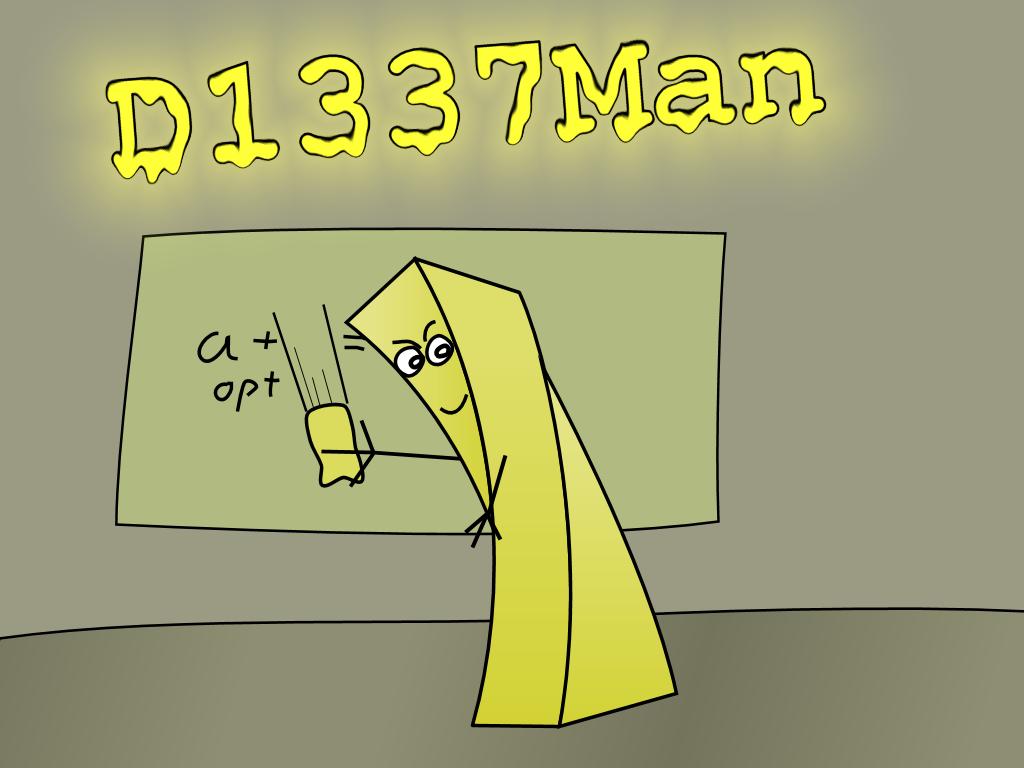 D1337Man Vectorized by Scarzzurs