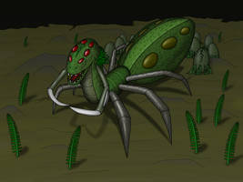 Alien Hybrid 1 v5 by Scarzzurs