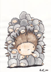 Great pile o' hogs