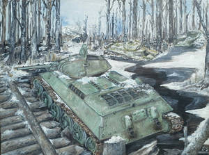 Russian front winter