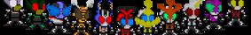 Kamen Rider Kabuto: Rider Sprites by heartlessk