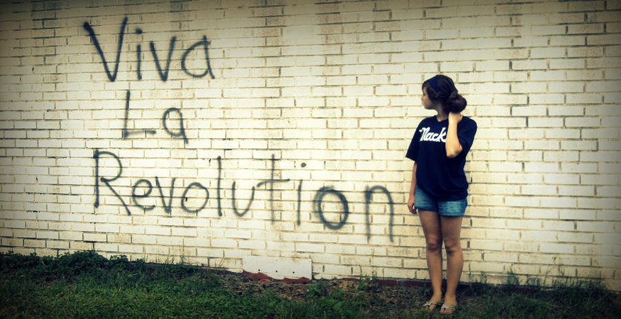 Viva La Revolution by surrealistique