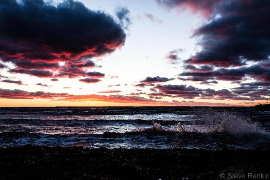 Baxters Cove Dusk by steverankin