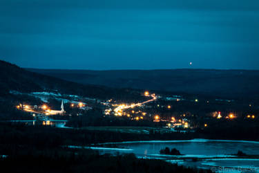 Small Town Bright Lights by steverankin