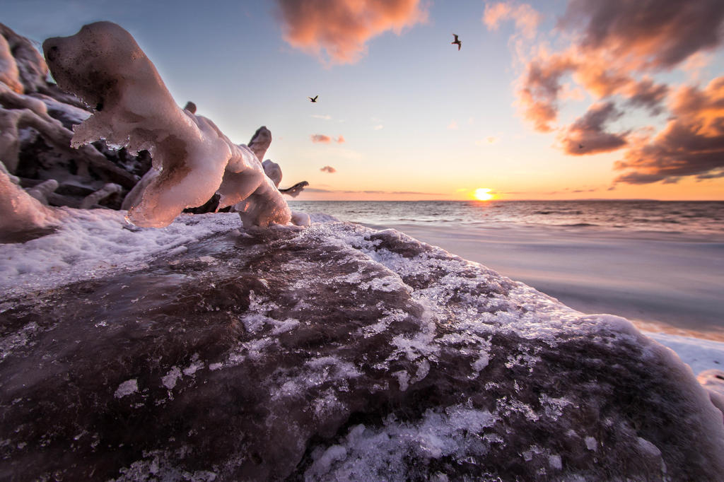 Winter's Tightening Grip by steverankin
