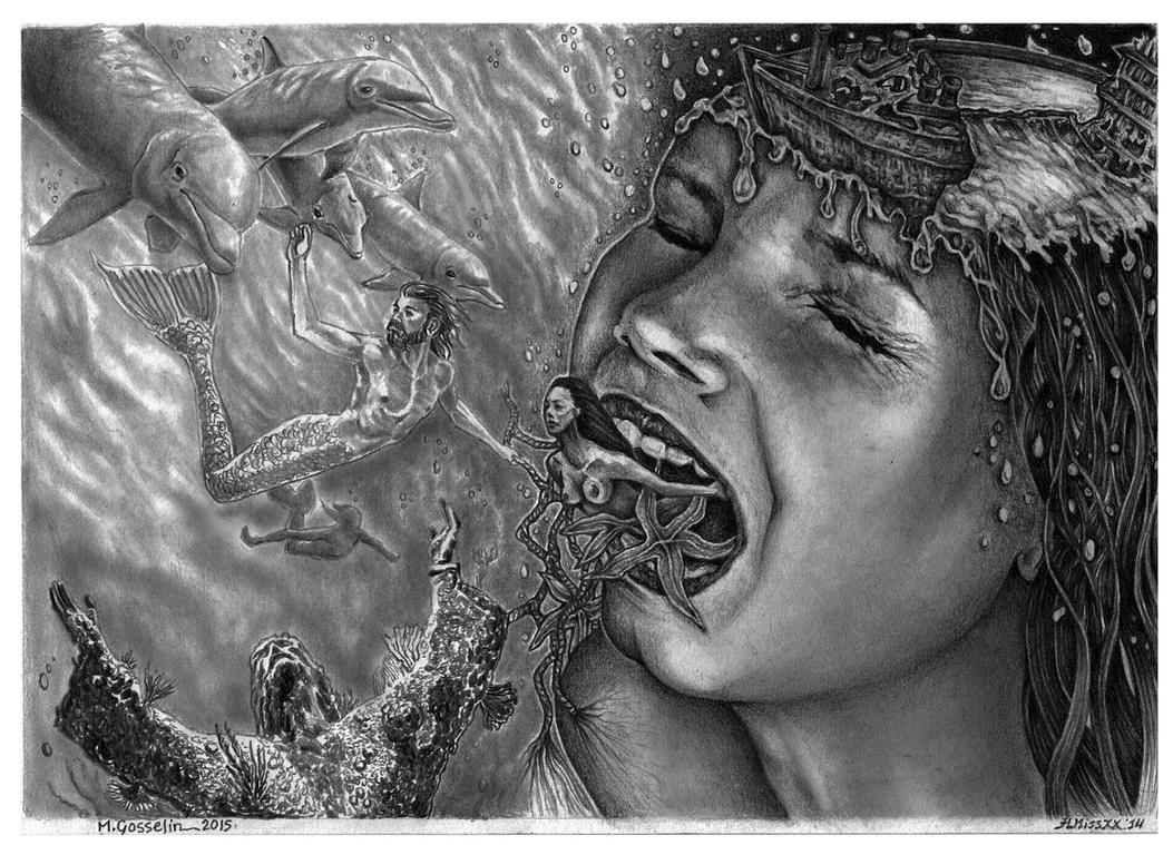 Tales Of The Deep Sea by marcgosselin