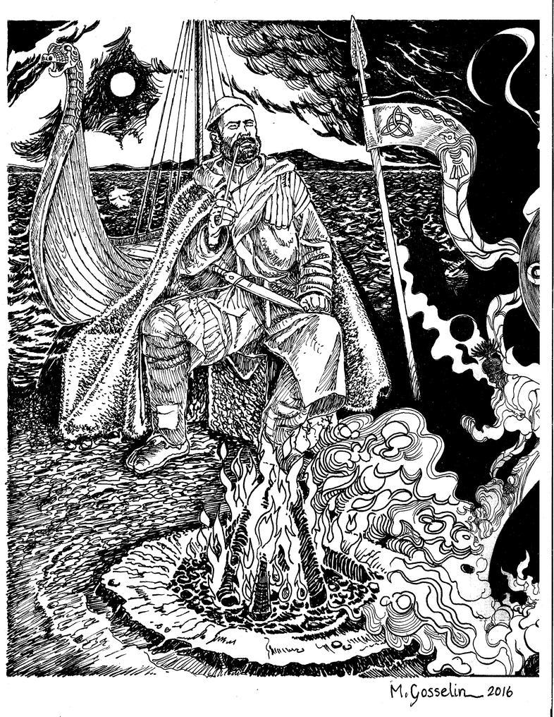 Viking King by marcgosselin