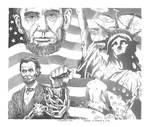 ANACHROPIA, Abraham Lincoln Verses The Alilens