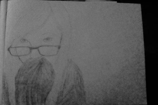 A drawing of me by me