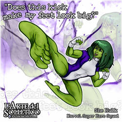 She Hulk - Big Feet - Fan Tribute - Hi-Res