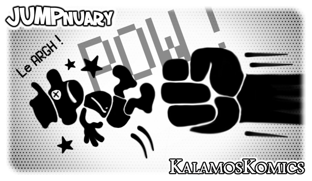 JUMPnuary 2018/04 - BEING PUNCHED by Kalamos