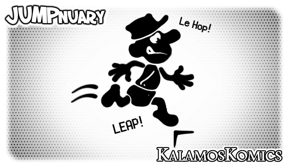 JUMPnuary 2018/05 - LEAP by Kalamos