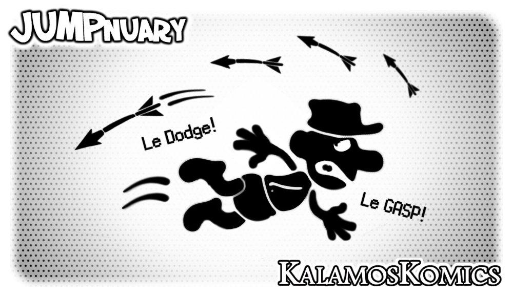 JUMPnuary 2018/06 - DODGE! by Kalamos