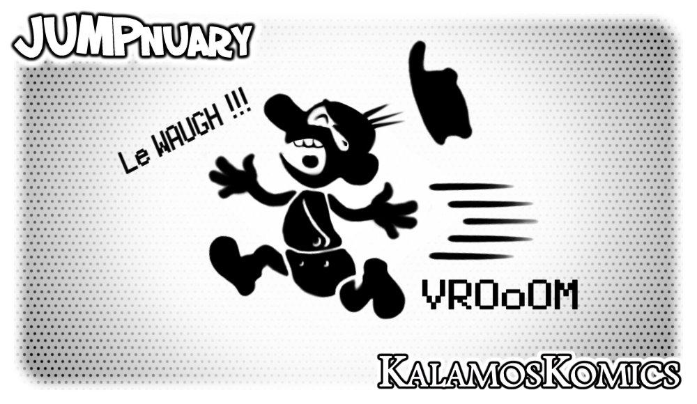 JUMPnuary 2018/07 - FLEE ! ! ! by Kalamos