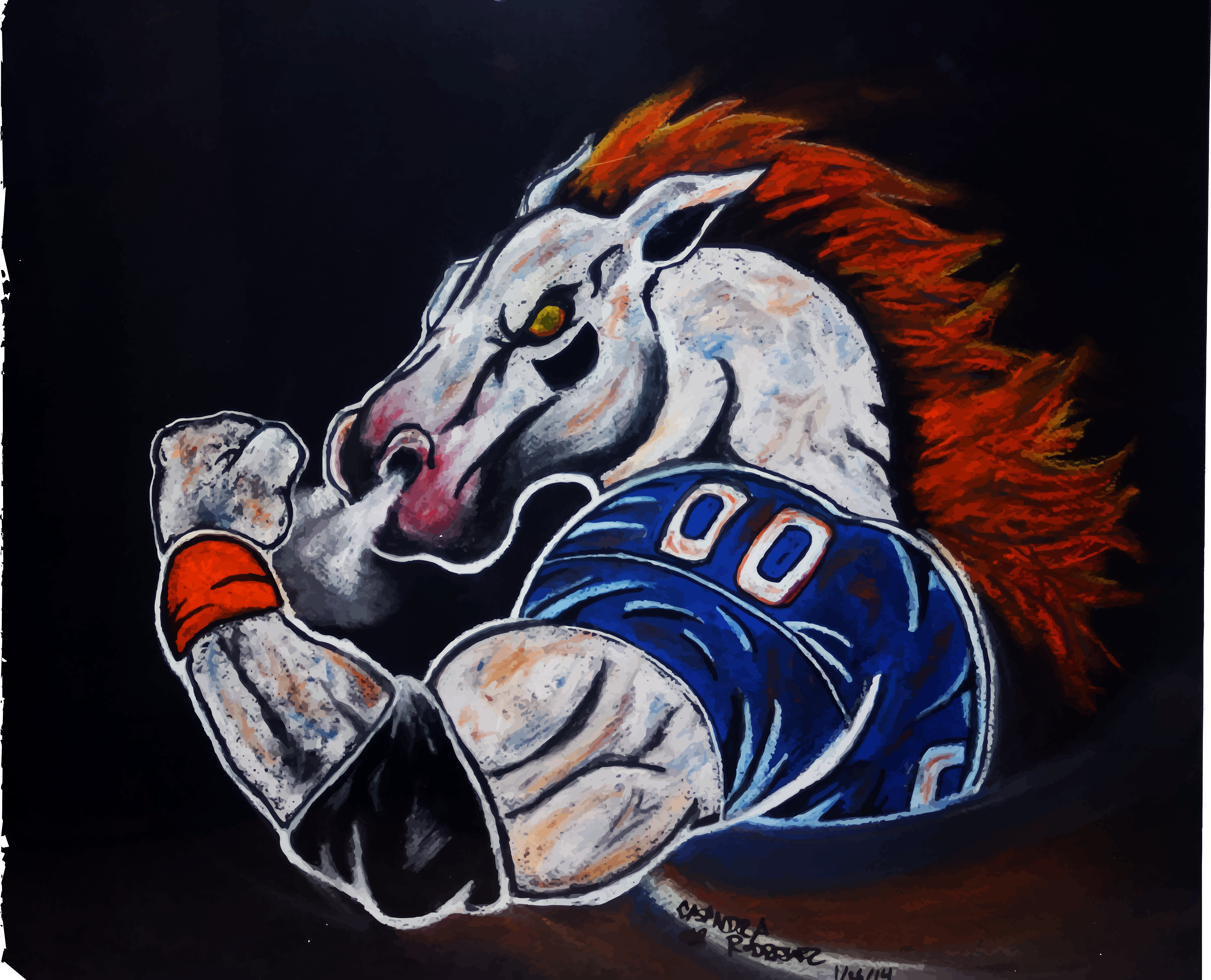 Denver broncos miles by lthanz on deviantart denver broncos miles by lthanz denver broncos miles by lthanz voltagebd Image collections