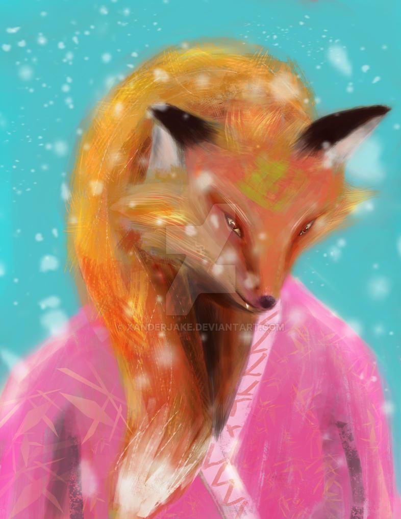 Foxy by xanderJake