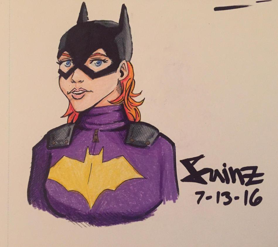 Batgirl  by cisainz