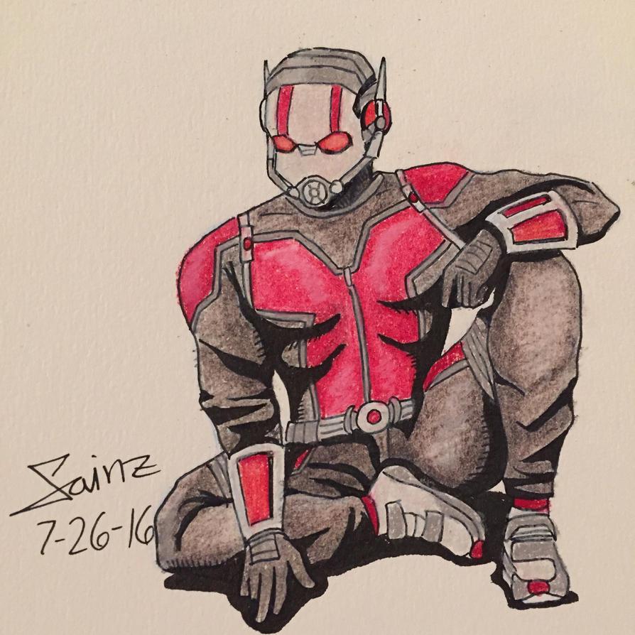Antman  by cisainz