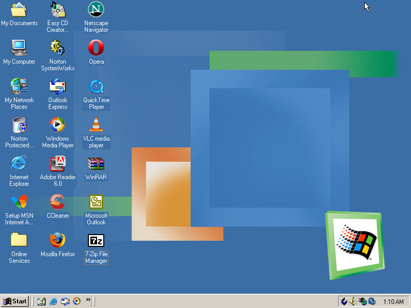 Windows ME Desktop by ShermanShermanXFive