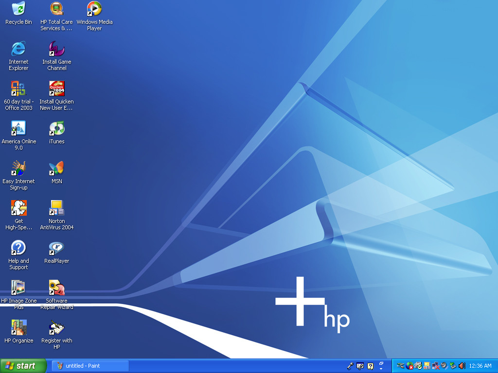 Windows XP Home Edition on my HP Pavilion a730n! by