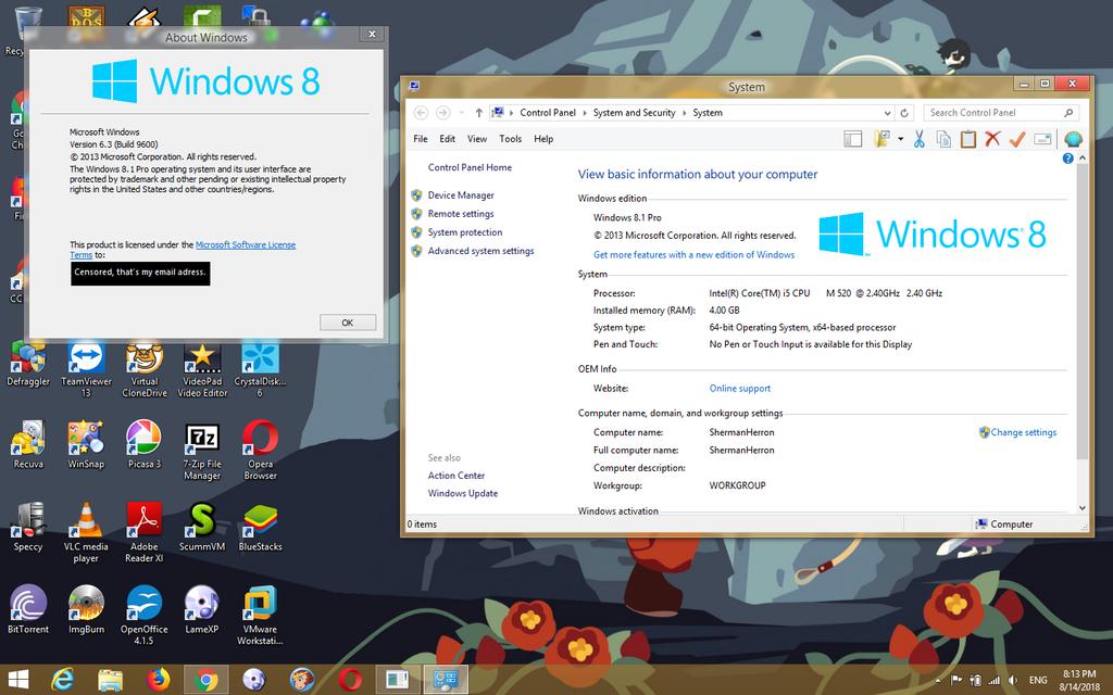 Windows 8.1 Pro on my Dell Latitude E6410! by ShermanShermanXFive