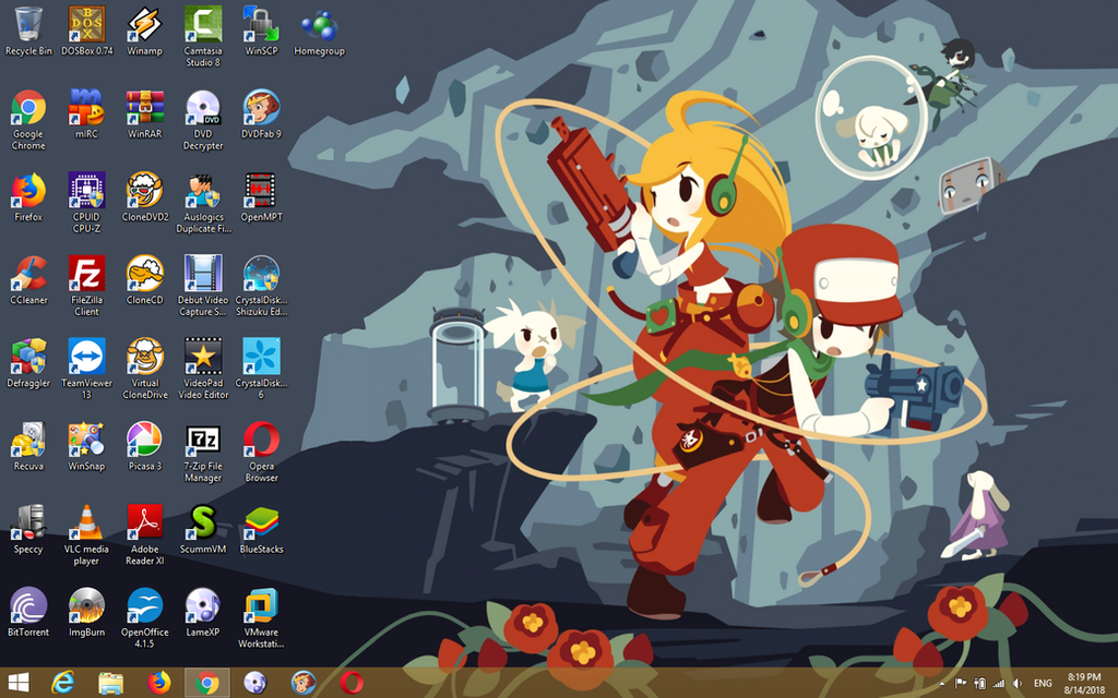 Windows 8.1 Pro x64 Desktop by ShermanShermanXFive