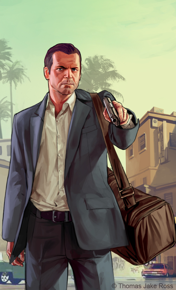 GTA V - Michael by ThomasJakeRoss on DeviantArt