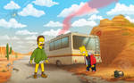 Breaking bad - The simpsons