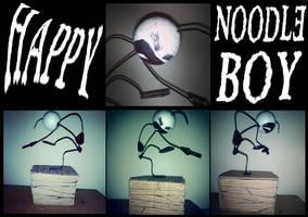 Happy noodle boy model by MasochistFox
