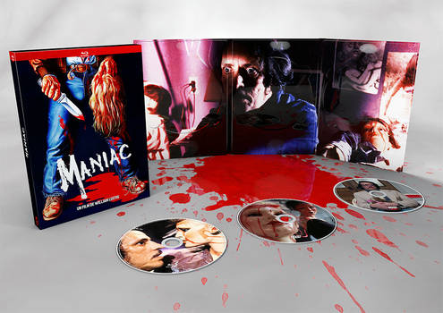 MANIAC 3 DVD