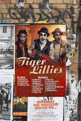 The Tiger Lillies Autumn-tour