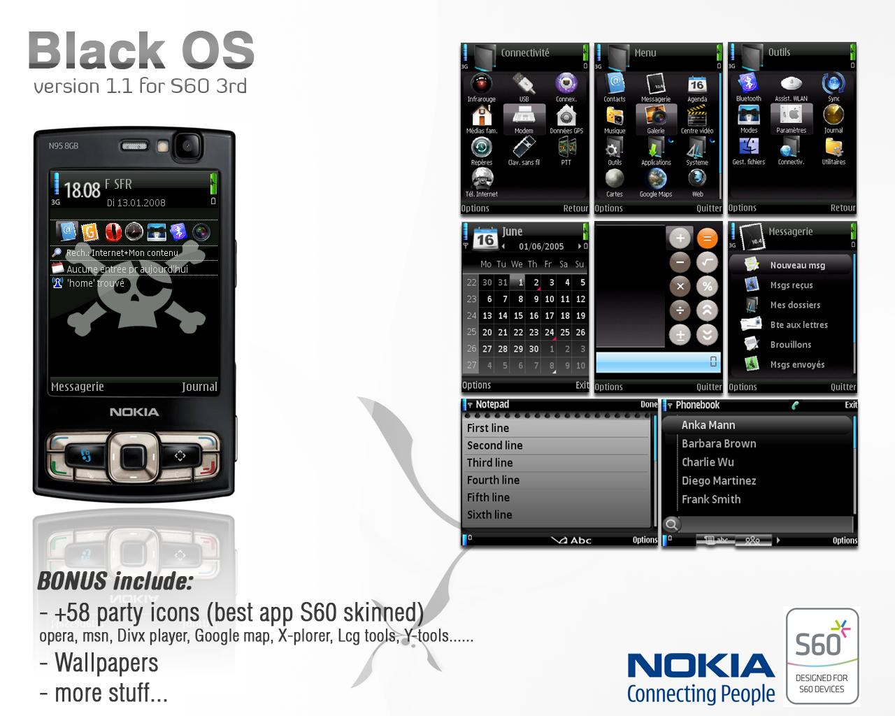 Navigateur De Fichiers Nokia S60v3 Symbian App Gratuit