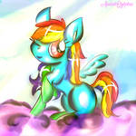 Looking good with socks by AudeliSylphie
