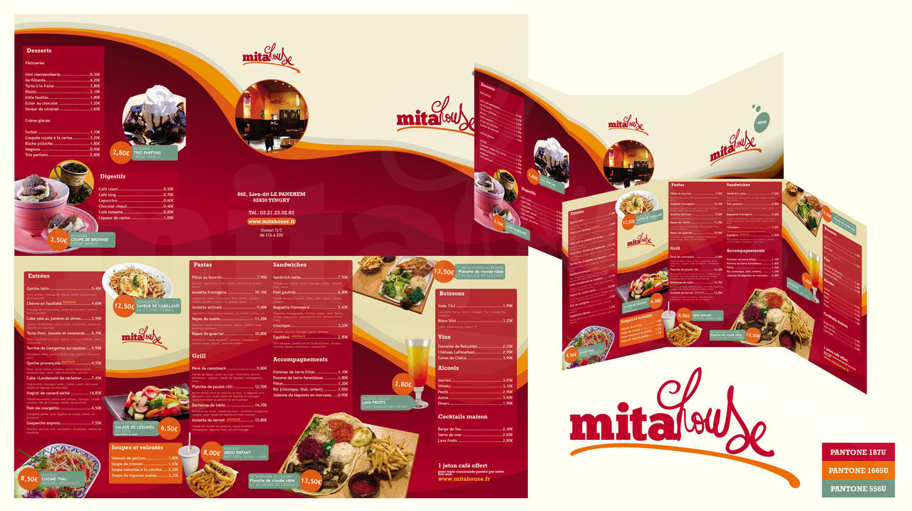 MitaHouse - Menu by nicosaure