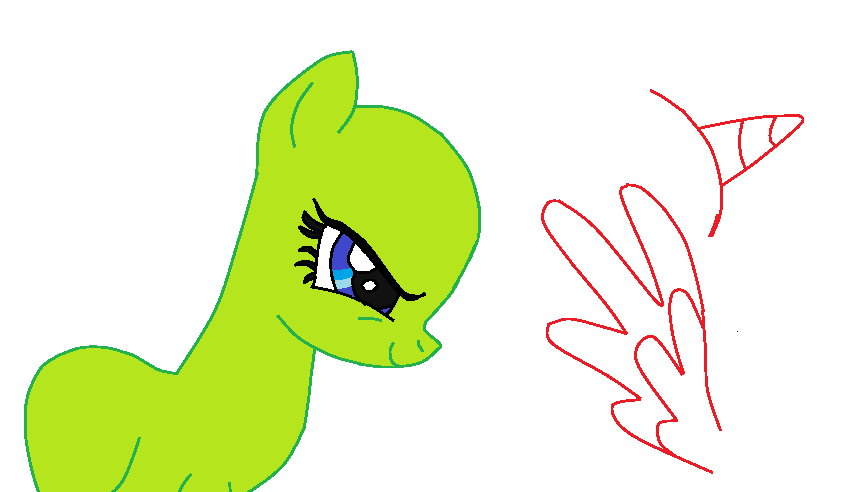 My Little Pony Base ~ #1 ~ Evil Pony by caitlin72 on ...