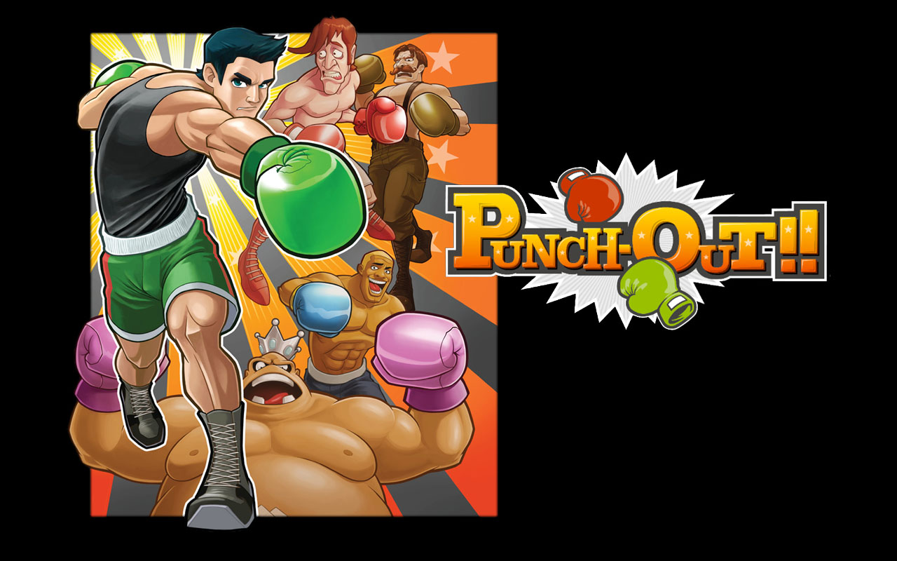 Punch Out Wallpaper